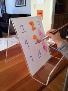 Number Painting Boards