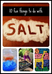 10 Fun Things to Do with Salt Left Brain Craft Brain