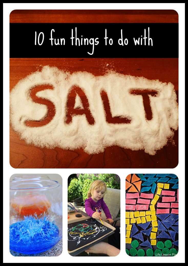 10 fun things to do with salt left brain craft brain for Fun things to craft