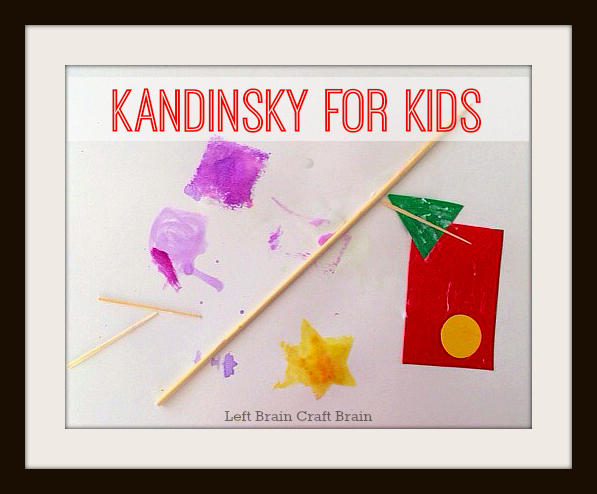 Five Minute Crafts: Kandinsky for Kids Process Art