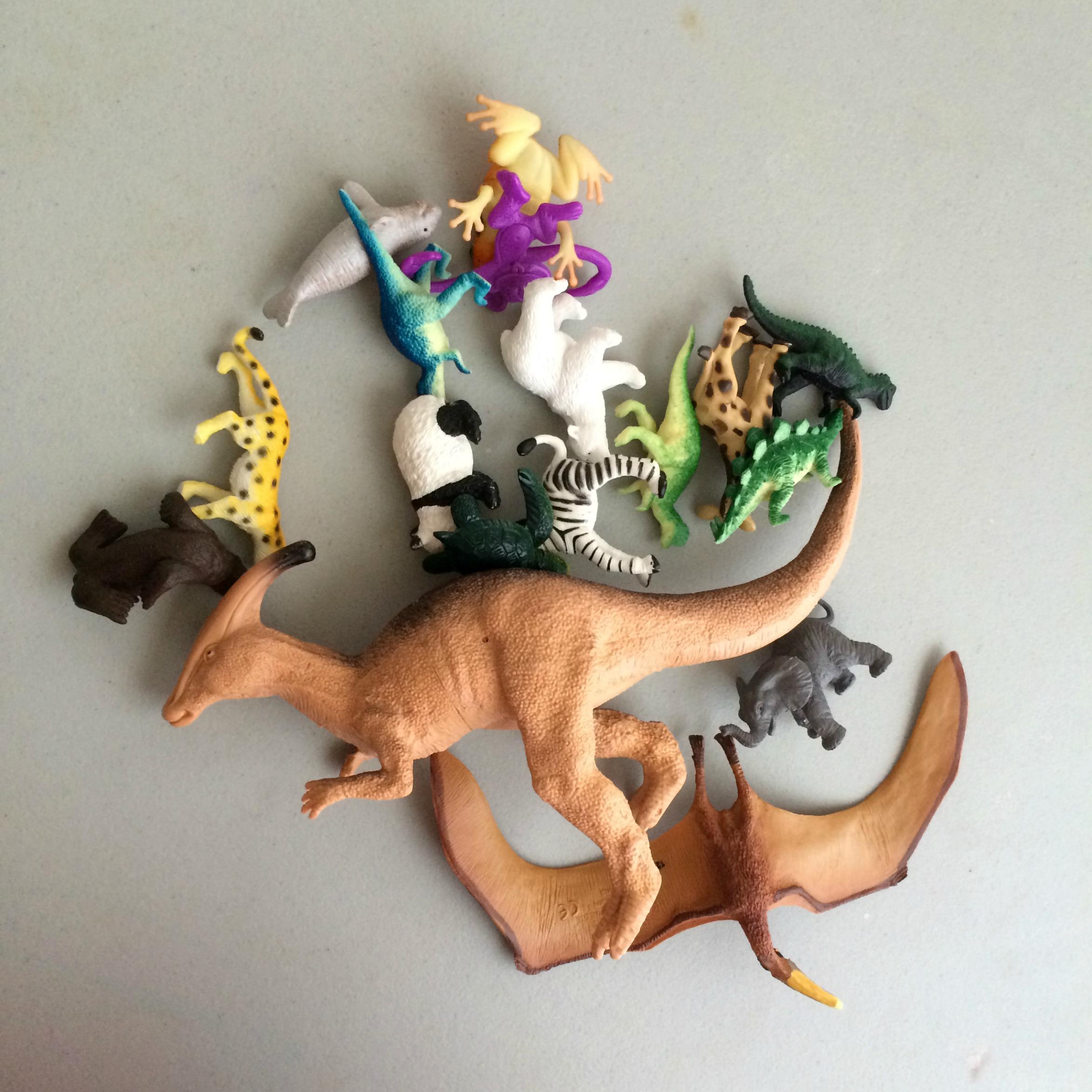 dinosaur dig bin animals left brain craft brain