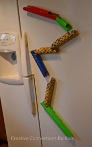 fridge marble run creative connections for kids