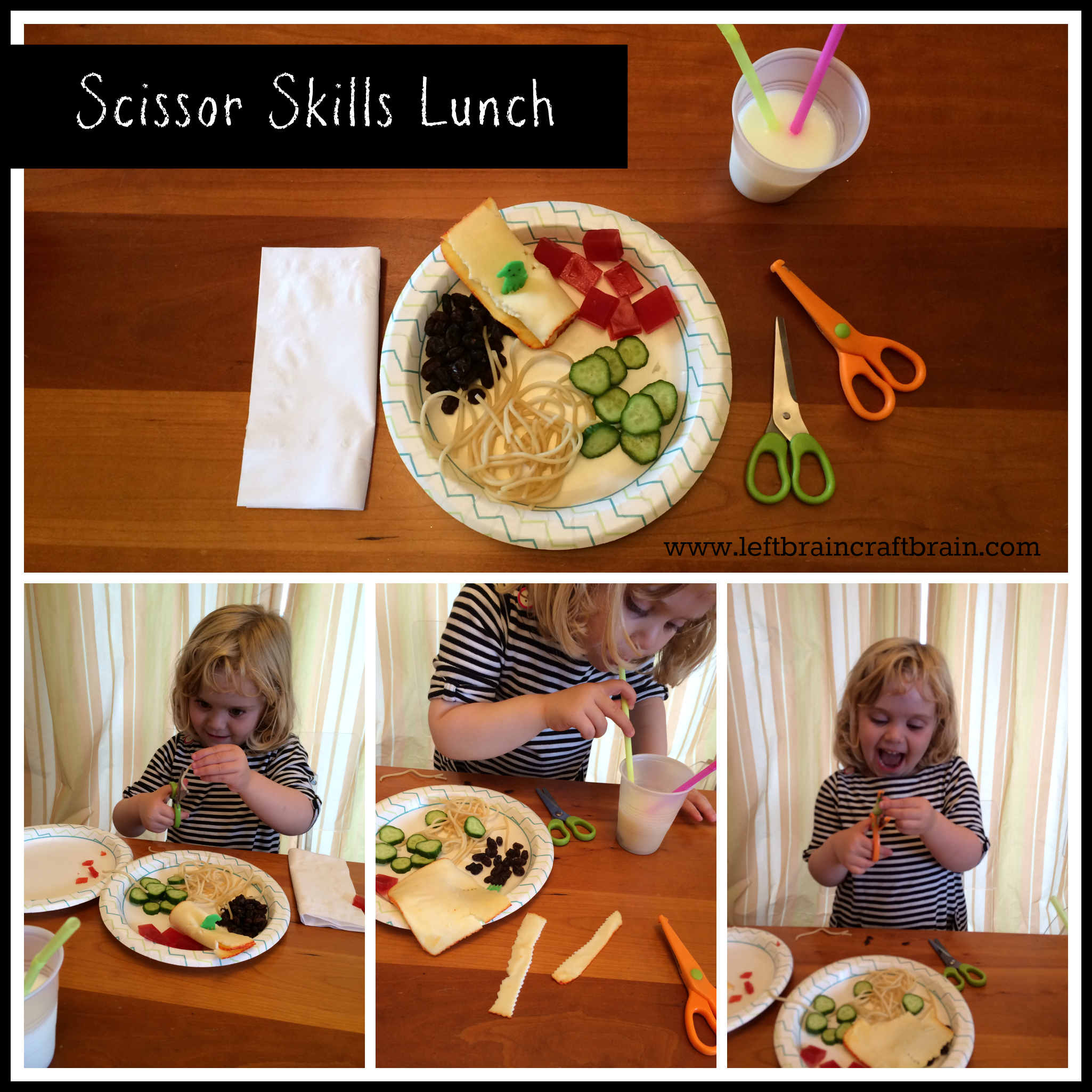 scissor skills lunch