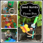 Seed Bombs and Flower Pots