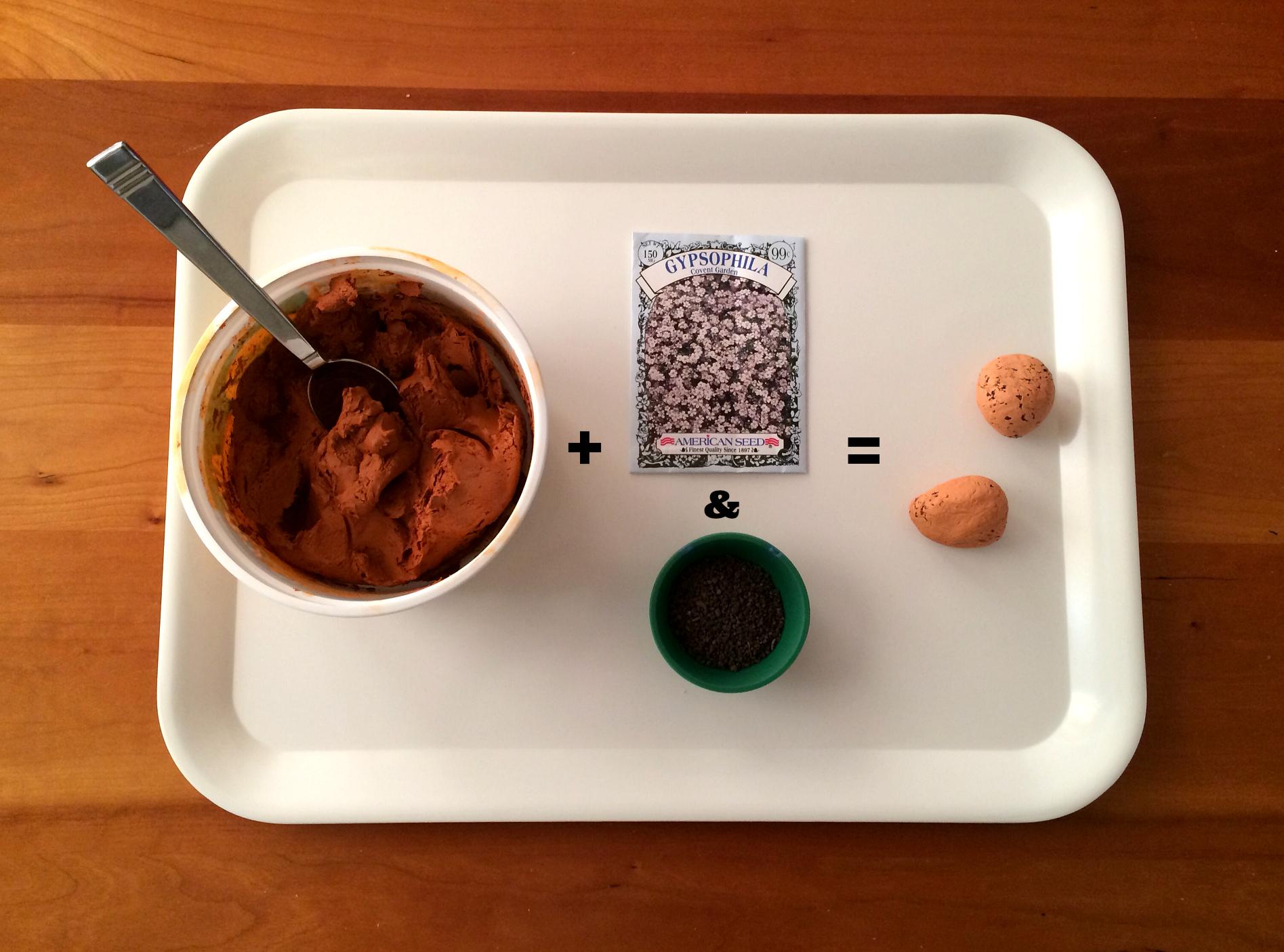seed bomb recipe