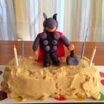 Wordless Wednesday:  Thor Birthday Cake