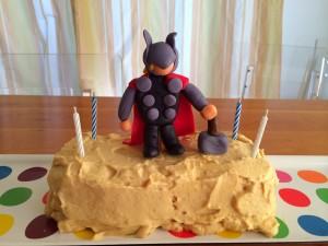 Wordless Wednesday:  Thor Birthday Cake