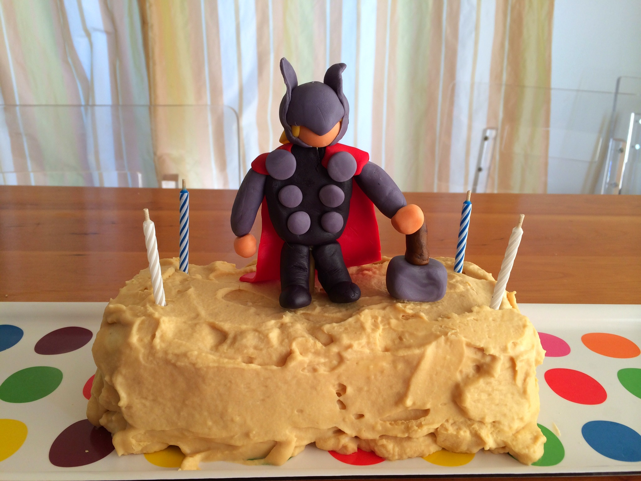 wordless wednesday thor birthday cake left brain craft brain