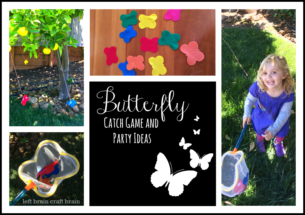 butterfly catch game and party ideas left brain craft brain horizontal frame