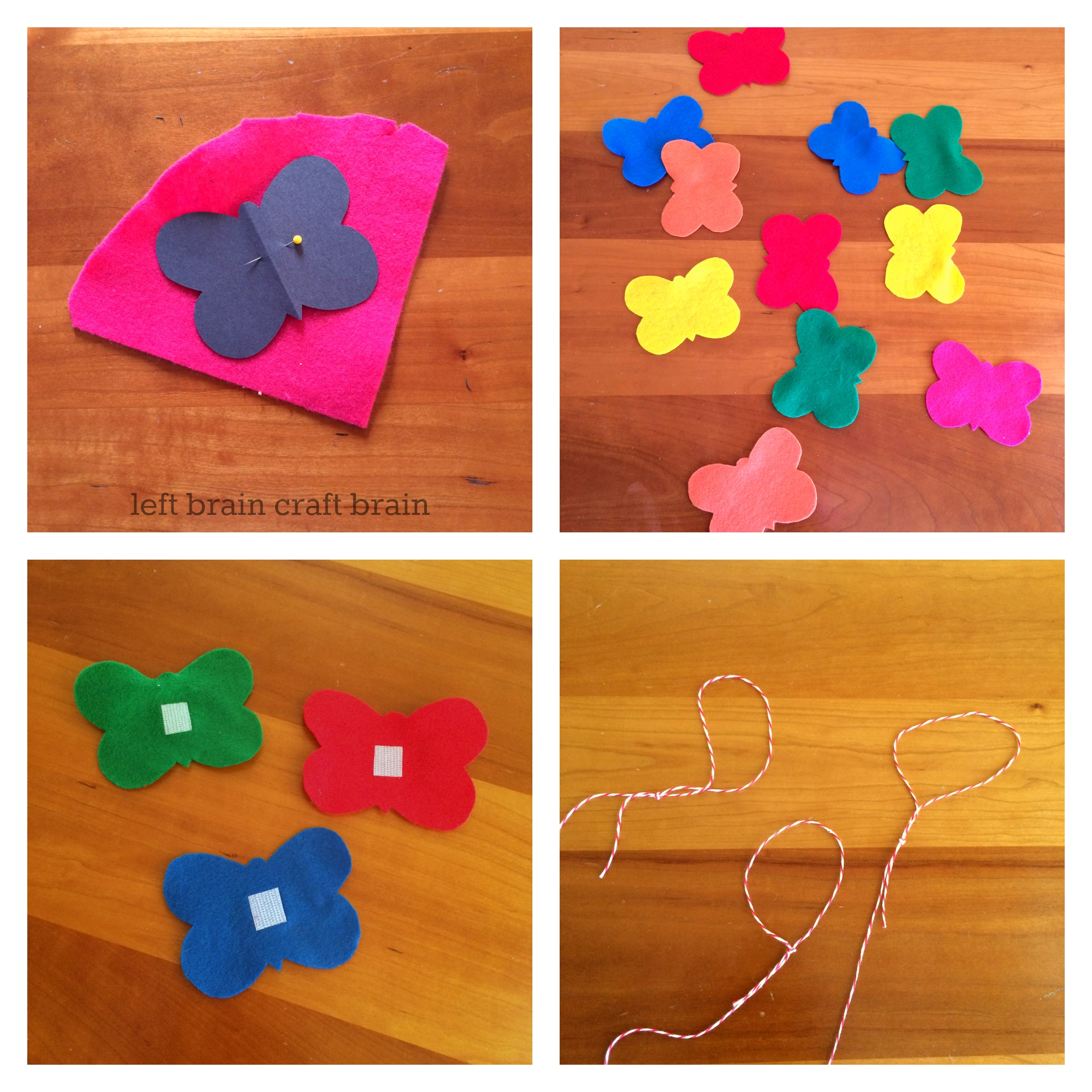 butterfly game activity steps left brain craft brain