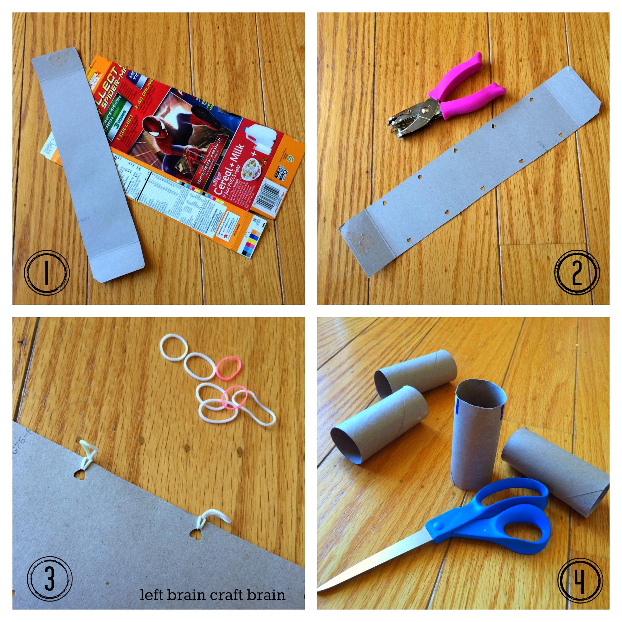 diy recycled suspension bridge collage 1 left brain craft brain