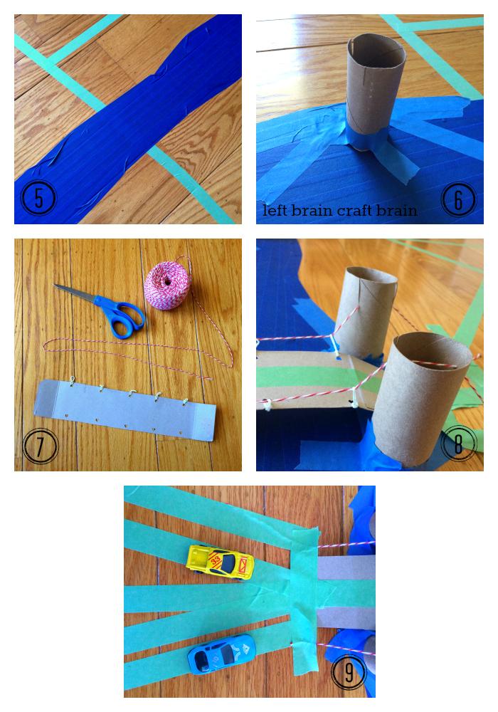 diy recycled suspension bridge collage 2 left brain craft brain