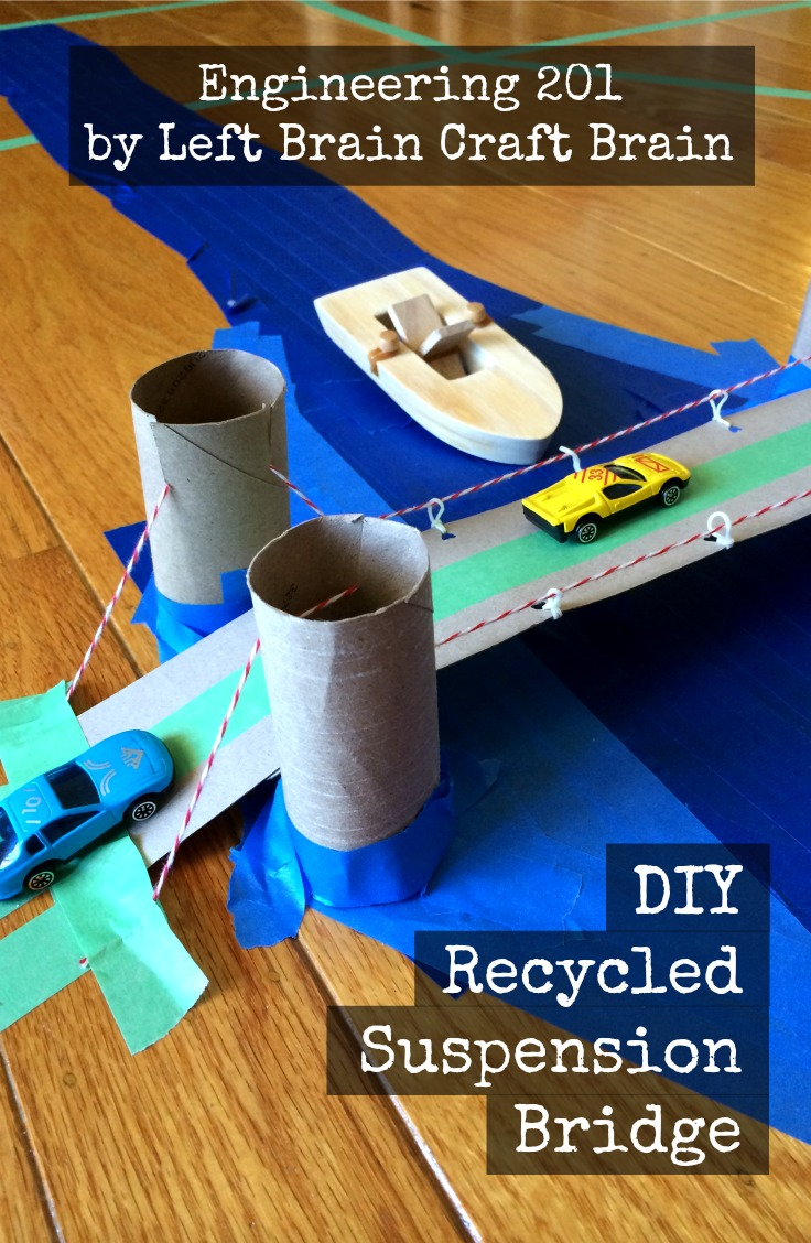 Diy suspension bridge a finalist in the scotch make for Diy crafts with recycled materials