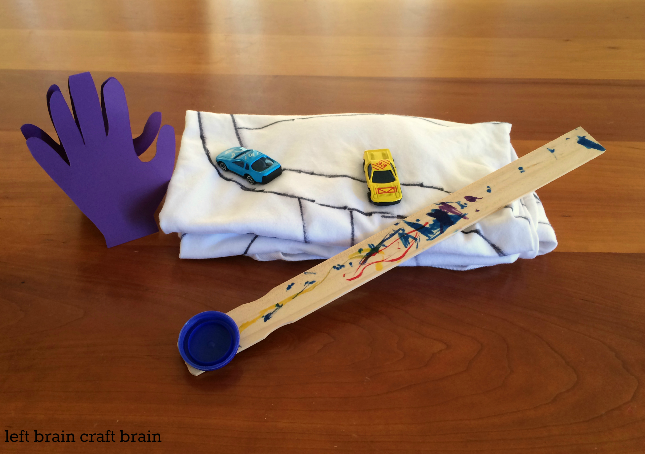 Father's Day DIY Back Scratcher Gift Set