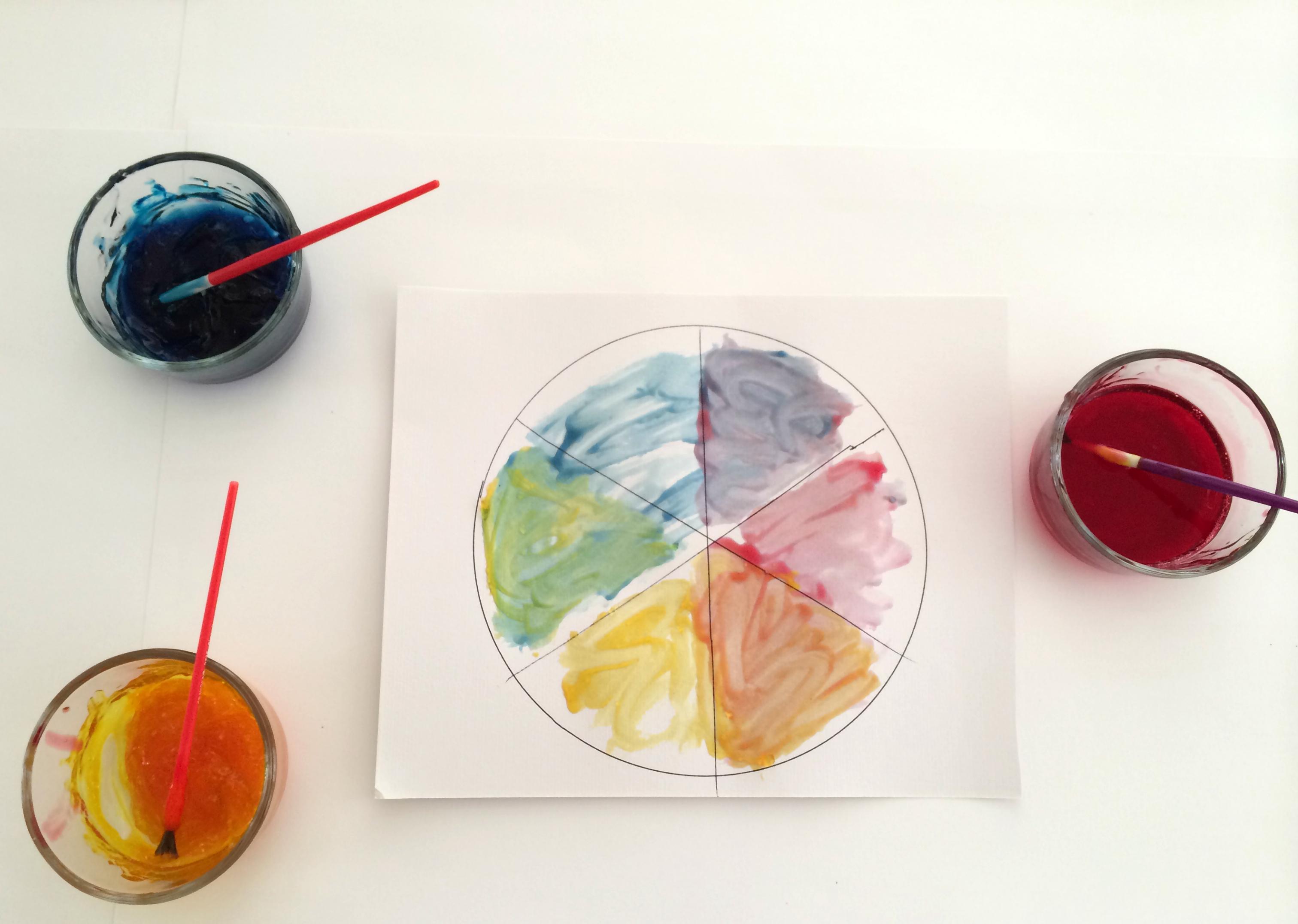 Five Minute Crafts: Gel Paint Color Mixing Experiment