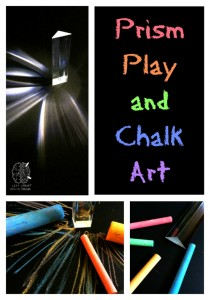 prism play and chalk art craft left brain craft brain
