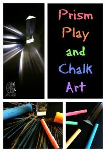 prism play and chalk art craft left brain craft brain