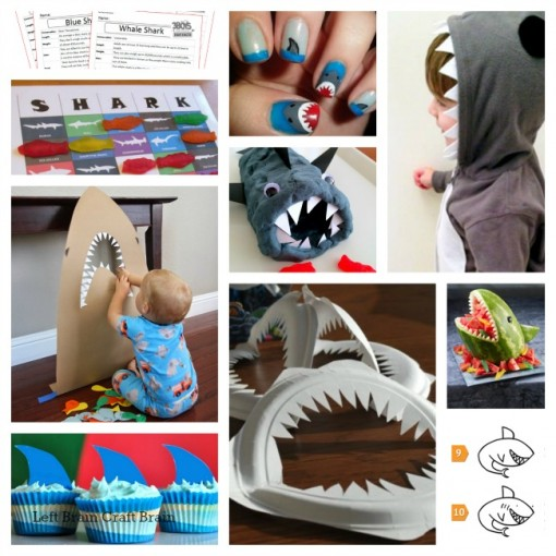 10 shark week activities left brain craft brain 650x650