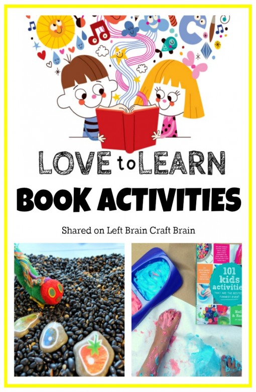 Love to Learn Book Activities Left Brain Craft Brain