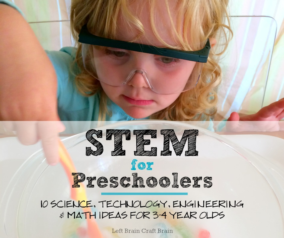 craft ideas for 4 year olds stem for preschoolers left brain craft brain 7539
