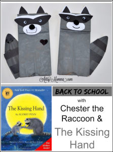 The-Kissing-Hand-Chester-the-Raccoon-Craft-Back-to-School-1