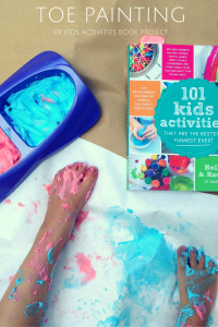 Toe Painting with Recipe 1