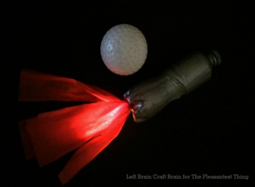 Glow in the Dark Moon Rocket Craft