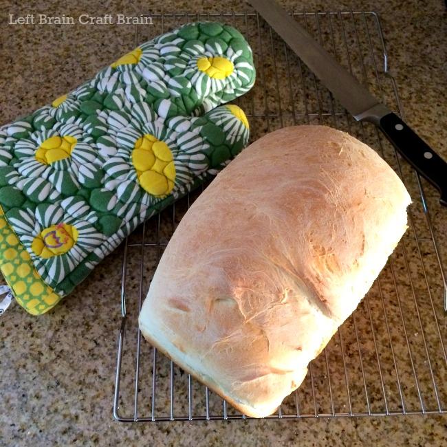 loaf of bread left brain craft brain
