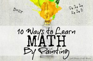 10+ Awesome Ways to Learn Math by Painting