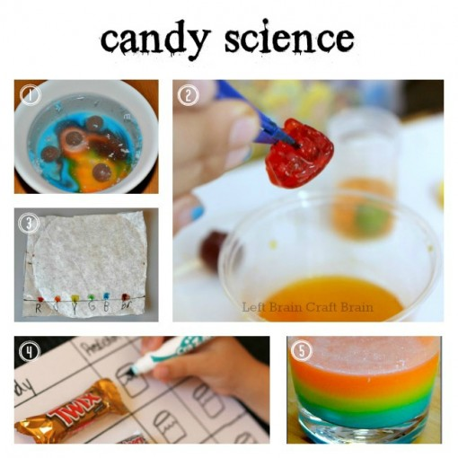Candy Science Left Brain Craft Brain