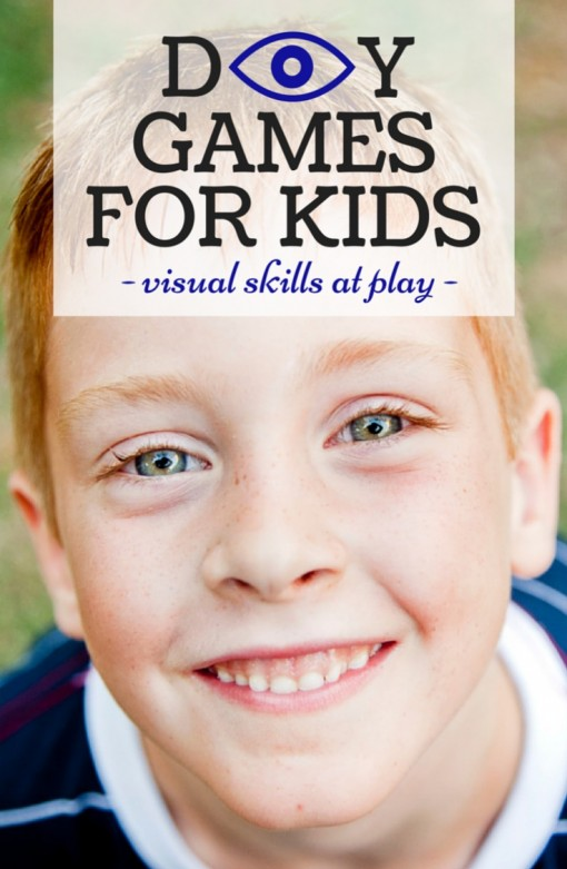 D EYE Y DIY Games for Kids Visual Skills at Play Left Brain Craft Brain
