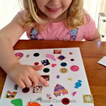 DIY Sticker Seek and Find Game