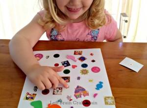 DIY Sticker Seek and Find Left Brain Craft Brain featured