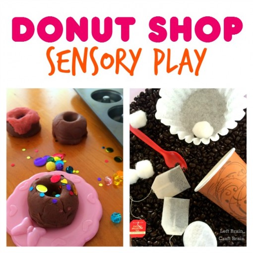 Donut Shop Sensory Play Left Brain Craft Brain FB
