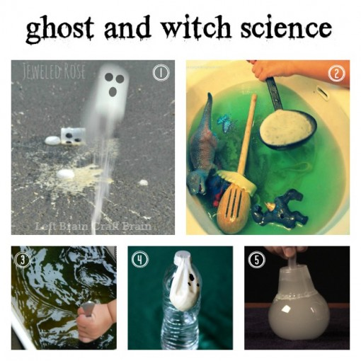 Ghost and Witch Science Left Brain Craft Brain