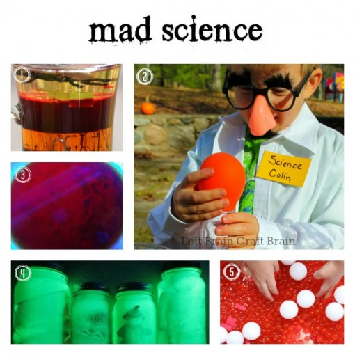 Mad Science Left Brain Craft Brain