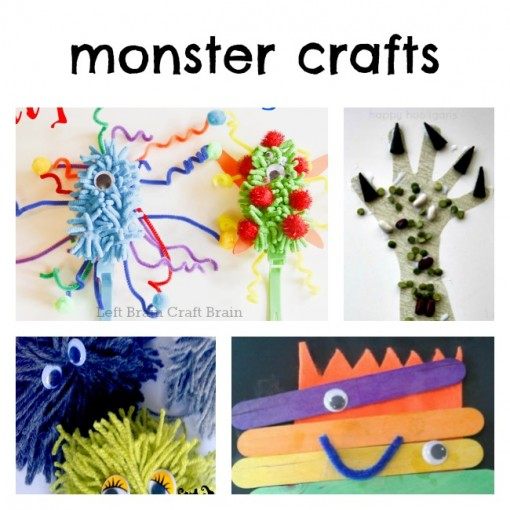 Monster Crafts Left Brain Craft Brain