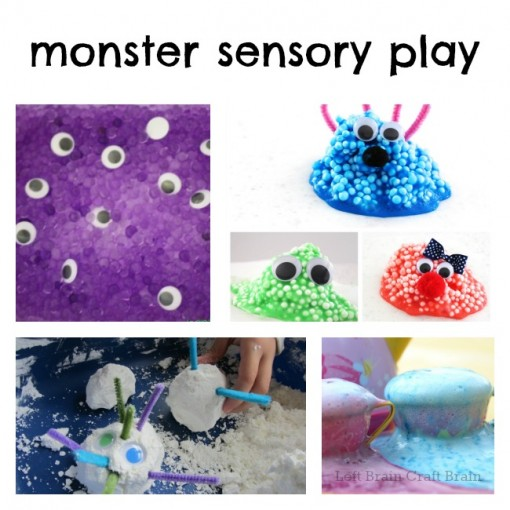Monster Sensory Play Left Brain Craft Brain