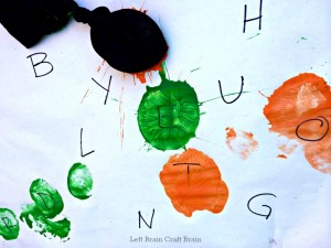 Sock Bomb Alphabet Painting Game