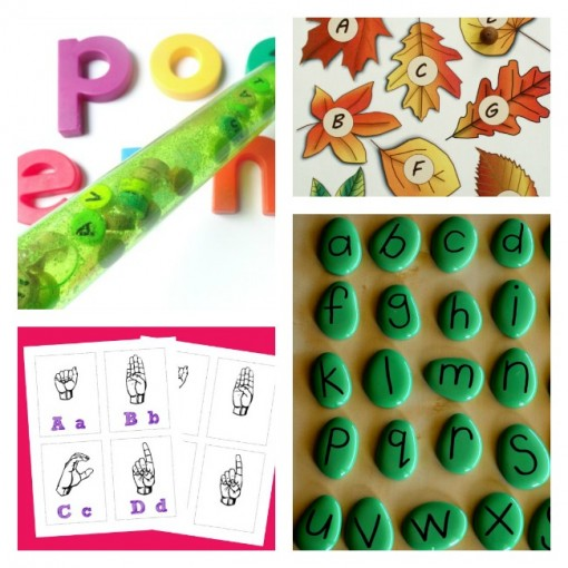 alphabet 1 love to learn linky left brain craft brain