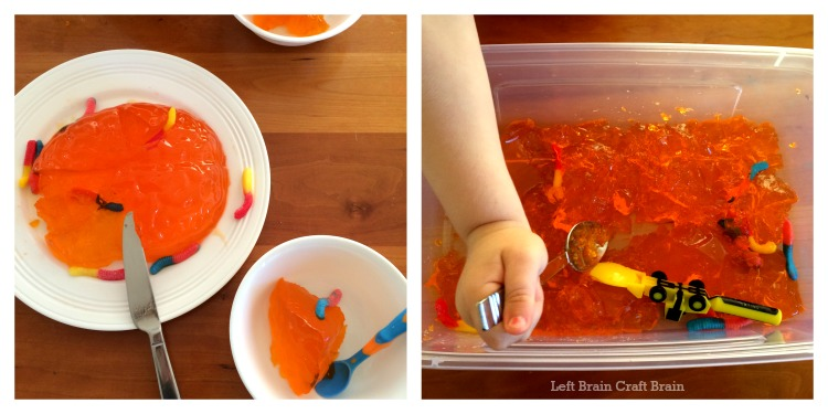 jello brain surgery left brain craft brain