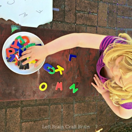 letters left brain craft brain