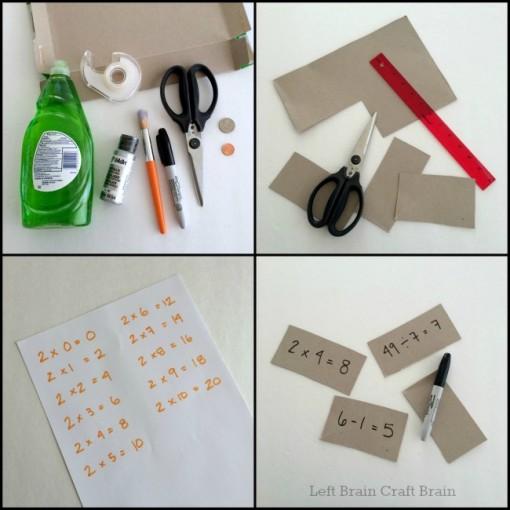 scratch off math cards steps 1 left brain craft brain