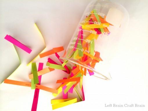 STEAM Bored Jar spilled Left Brain Craft Brain