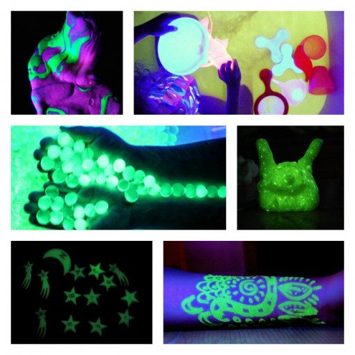 Sensory Play in the Dark for Preschoolers Left Brain Craft Brain