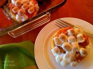 Sweet Potatoes in Orange Cups Recipe