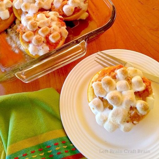 Sweet Potatoes in Orange Cups Recipe Left Brain Craft Brain bright