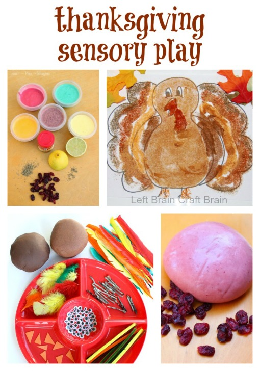 Thanksgiving Sensory Play Left Brain Craft Brain