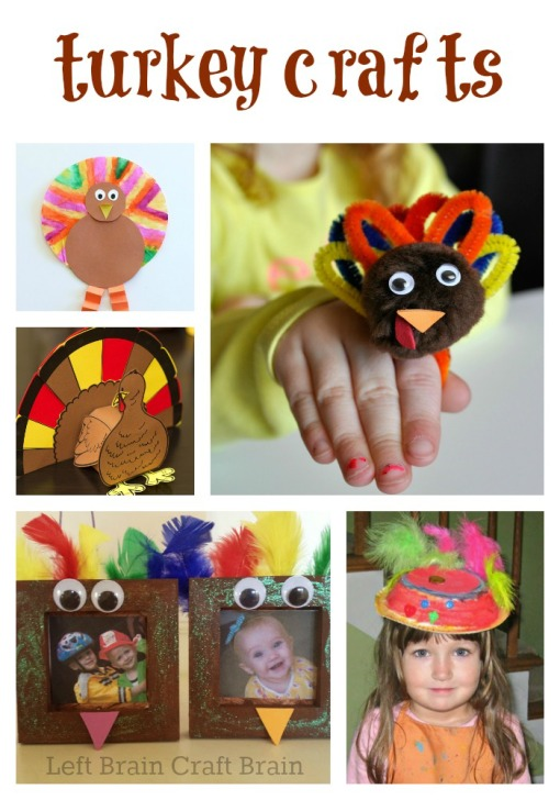 Turkey Crafts Left Brain Craft Brain