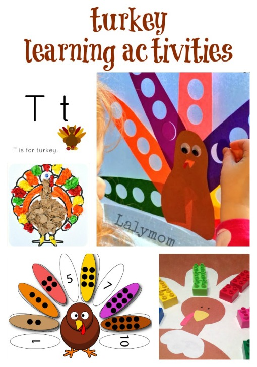Turkey Learning Activities Left Brain Craft Brain